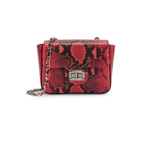 "BNWT Valentino Python Embossed ""Vivian"" Mini Bag"